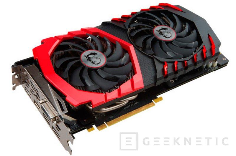 MSI lanza la GTX 1060 Gaming X en España por 369 Euros, Imagen 1