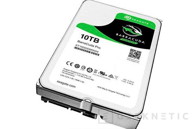 Seagate ya dispone de discos duros de 10 TB para consumidores, Imagen 1
