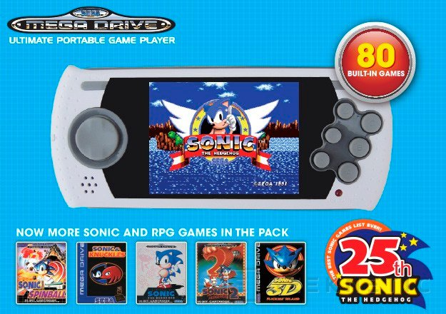 La Mega Drive también vuelve a la vida con dos nuevos modelos, Imagen 2