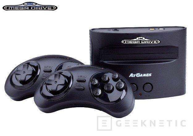 La Mega Drive también vuelve a la vida con dos nuevos modelos, Imagen 1