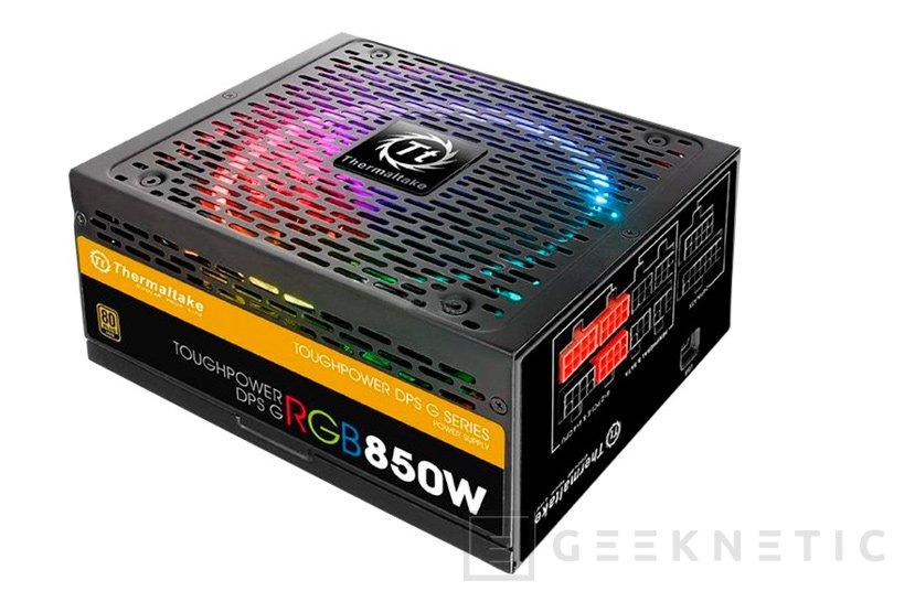 Nuevas fuentes de alimentación Toughpower DPS G RGB de Thermaltake, Imagen 1
