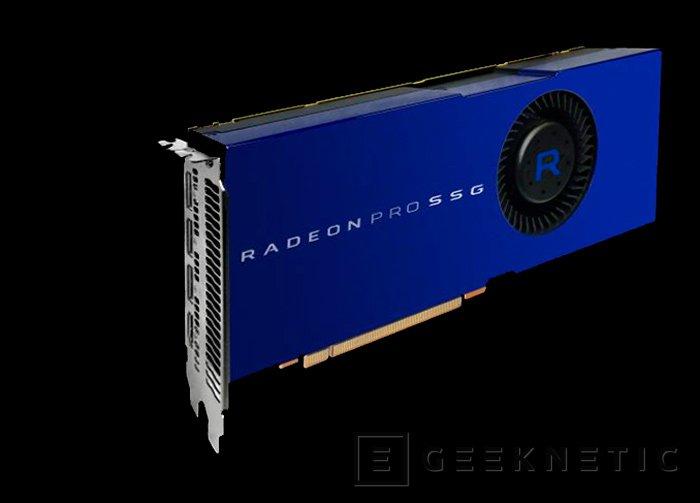 AMD Radeon PRO SSG, nueva gráfica profesional con 1 TB de SSD integrado, Imagen 1