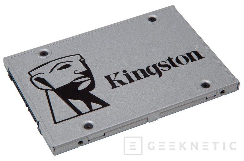 Kingston lanza los nuevos SSD UV400, Imagen 1
