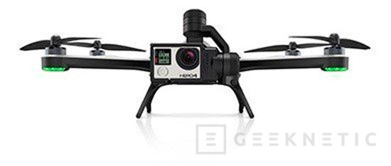 Primera imagen de Karma, el drone que prepara GoPro, Imagen 1