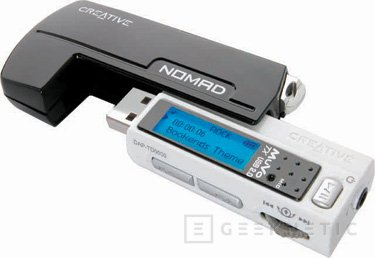 Nuevos reproductores digitales MuVo TX de Creative, Imagen 1