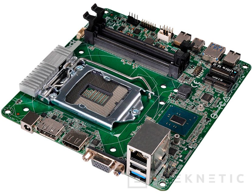 La primera placa base mini-STX con chipset H110 es de ASRock, Imagen 2