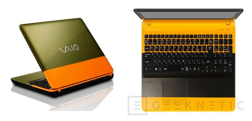 VAIO lanza su nuevo portátil bicolor C15, Imagen 1
