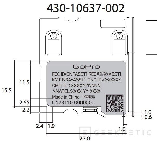 GoPro prepara su nueva cámara Hero 5 con GPS y pantalla táctil, Imagen 2