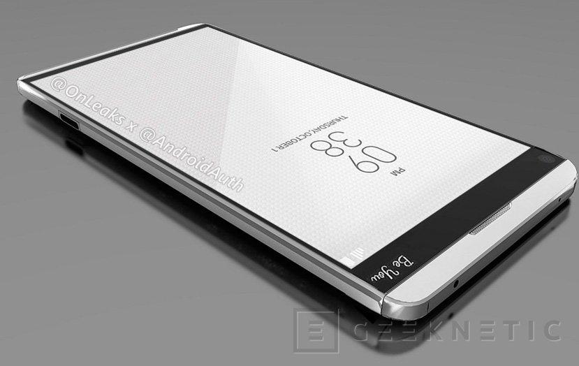 Los primeros renders del LG V20 dejan ver un posible diseño modular y doble cámara, Imagen 2
