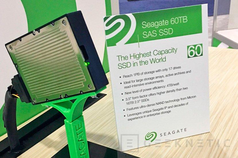 Seagate deja ver el SSD con mayor capacidad del mundo: 60 TB, Imagen 1