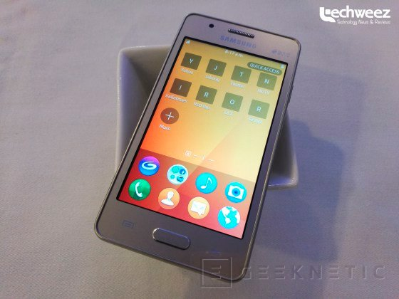 El Samsung Z2 con Tizen llegará mañana por unos 60 Euros, Imagen 1