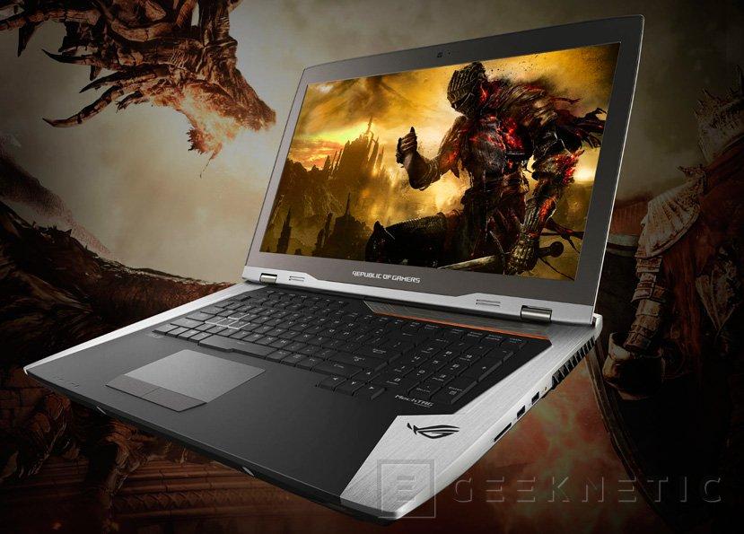 ASUS GX800, el portátil más potente del mundo llega con dos GTX 1080 en SLI, Imagen 1
