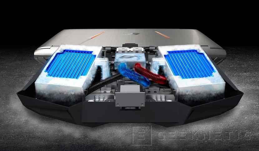 ASUS GX800, el portátil más potente del mundo llega con dos GTX 1080 en SLI, Imagen 3