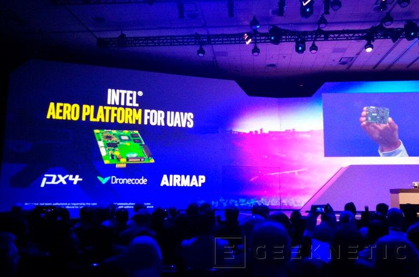 Intel Aero, una plataforma completa para crear drones avanzados, Imagen 1