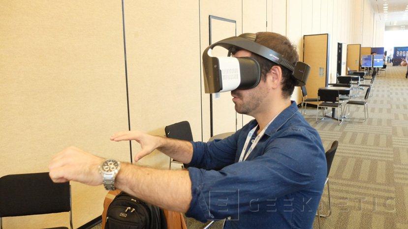 Probamos Project Alloy, la realidad virtual sin cables de Intel, Imagen 1