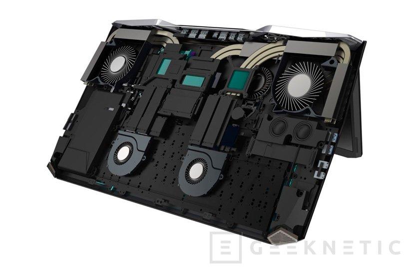 ACER Predator 21X, el primer portátil gaming con pantalla curva y dos GTX 1080, Imagen 3