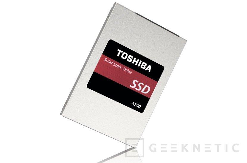 Toshiba anuncia sus nuevos SSD A100, Imagen 1
