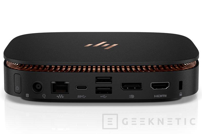 El HP Elite Slice es un mini PC con sistema modular, Imagen 2