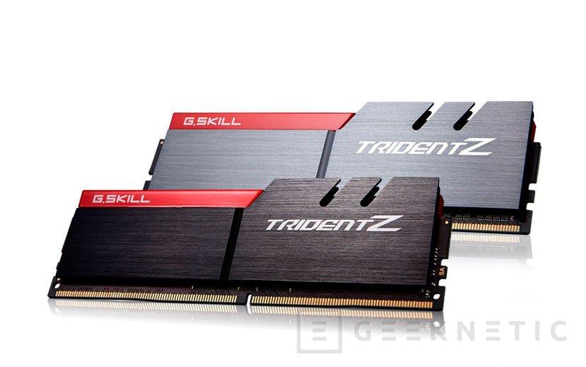 Las G.Skill Trident Z reciben un kit  DDR4 de 32 GB a 3.866 MHz, Imagen 1