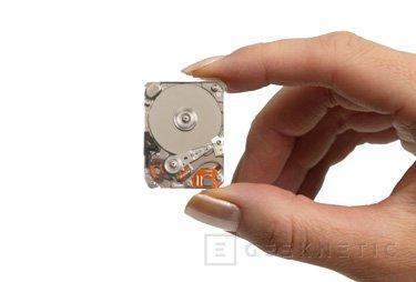 [CeBiT] Toshiba presenta el disco duro más pequeño del mundo, Imagen 1