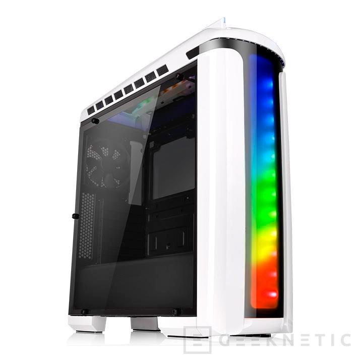 Nueva torre Thermaltake Versa C22 RGB Snow Edition , Imagen 2