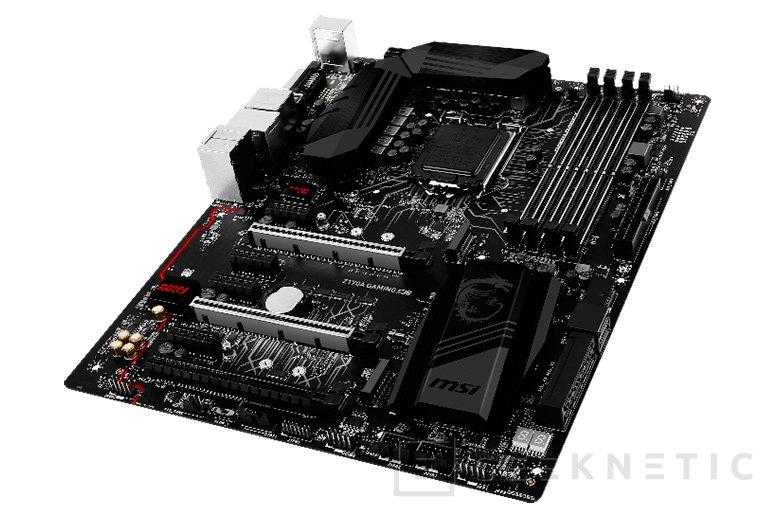 Nueva placa base MSI Z170A Gaming M6 con 16Gbps para los USB 3.1, Imagen 1