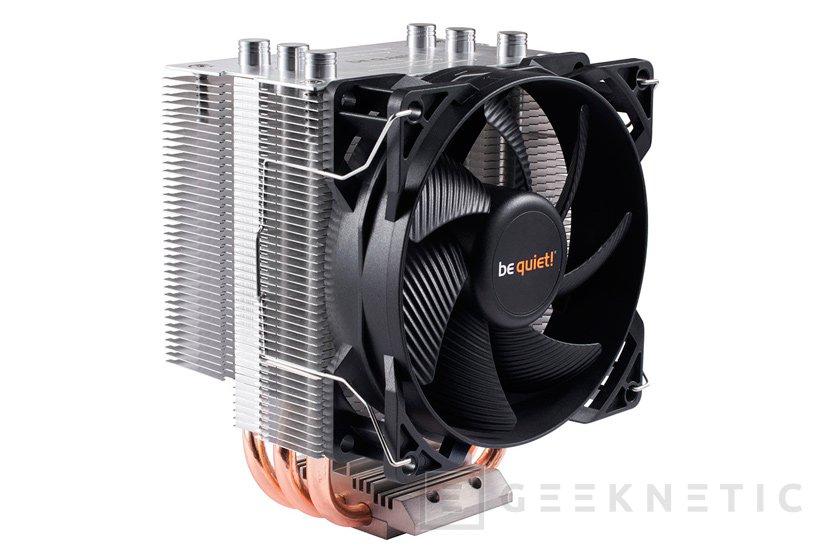 El Be Quiet! Pure Rock Slim es un disipador de CPU compacto capaz de disipar 120W, Imagen 1