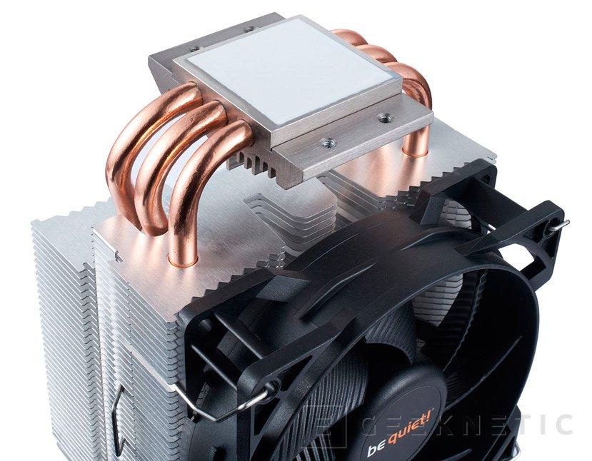 El Be Quiet! Pure Rock Slim es un disipador de CPU compacto capaz de disipar 120W, Imagen 2