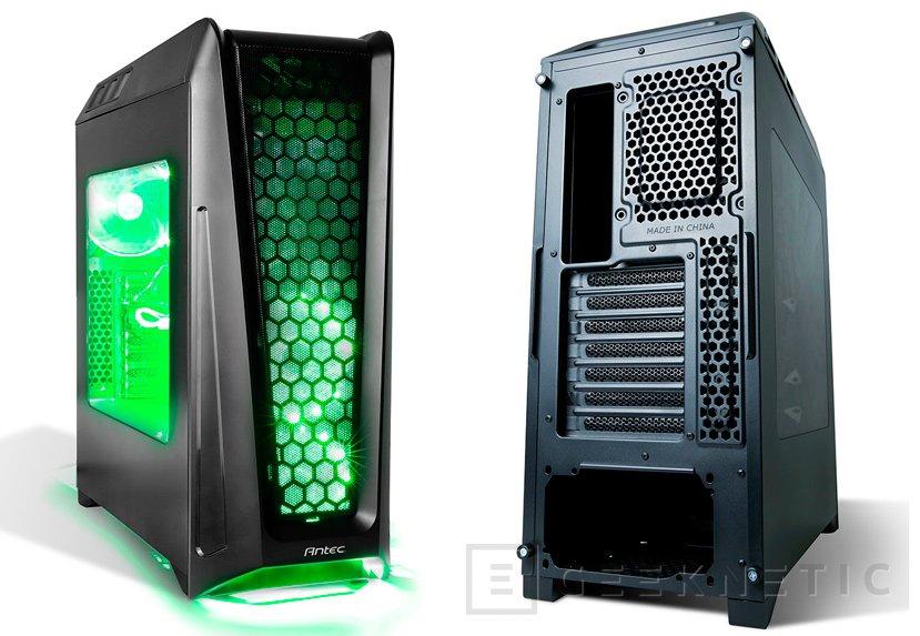 Antec GX1200, nueva semi-torre gaming con soporte para placas E-ATX, Imagen 1