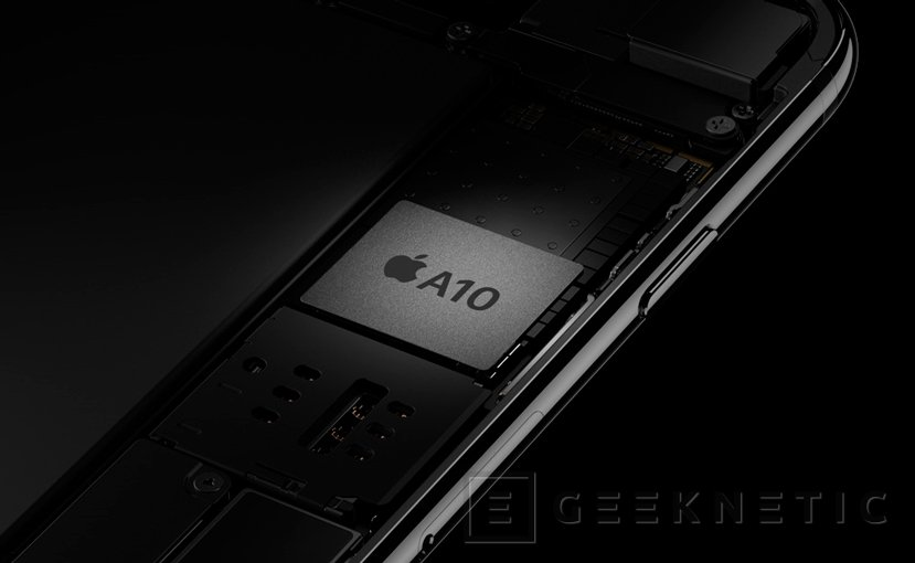 Apple se pasa a los 4 núcleos con su su SoC A10 Fusion para los  iPhone 7, Imagen 1