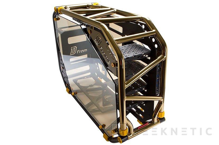 In Win presenta la sucesora de su llamativa torre D-Frame, Imagen 1