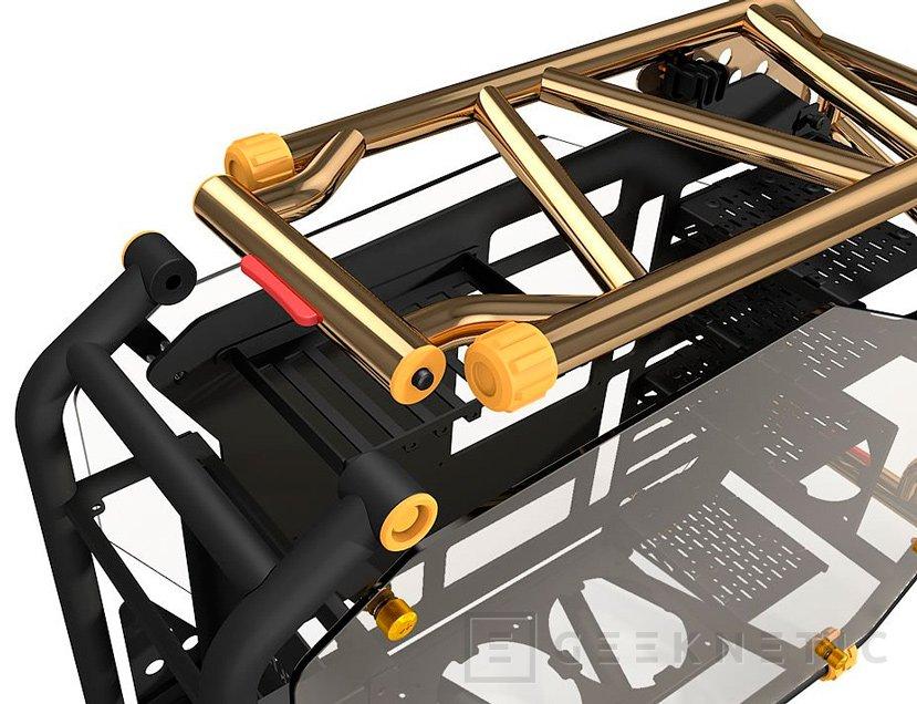 In Win presenta la sucesora de su llamativa torre D-Frame, Imagen 3