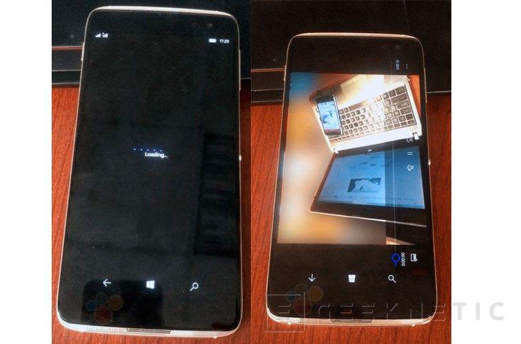 El Alcatel Idol 4 Pro se filtra con un Snapdragon 820 y Windows 10, Imagen 1