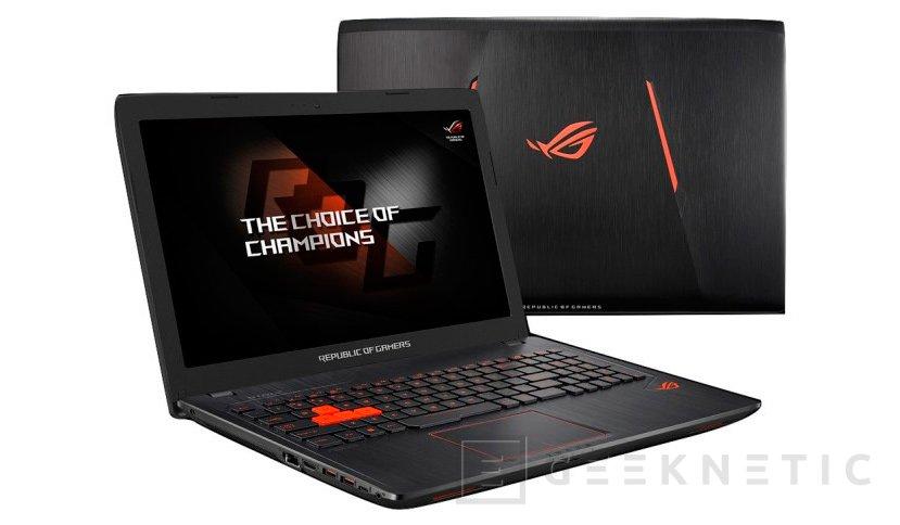 ASUS se decanta por una GTX 960M para su nuevo portátil gaming ROG Strix GL553VW, Imagen 1