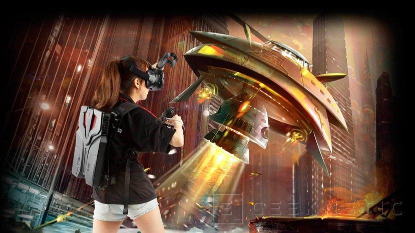 MSI presenta su PC-mochila para Realidad Virtual VR One, Imagen 1