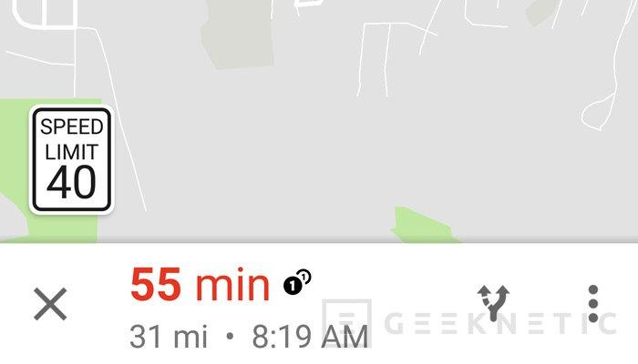 Google implementará límites de velocidad en Google Maps, Imagen 2