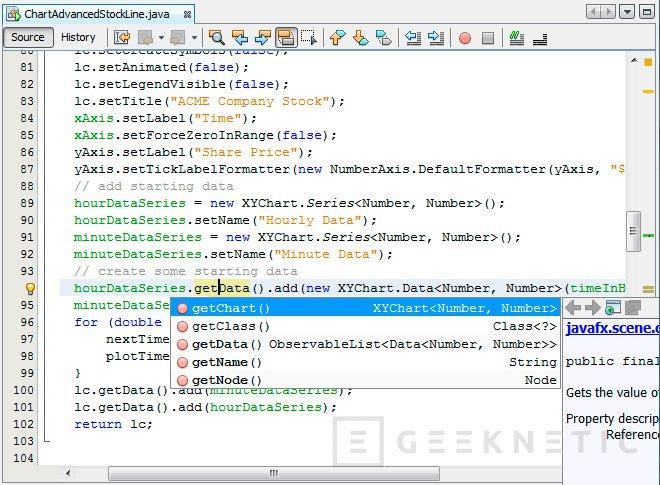 El IDE de programación NetBeans pasa a manos de la Fundación Apache, Imagen 1