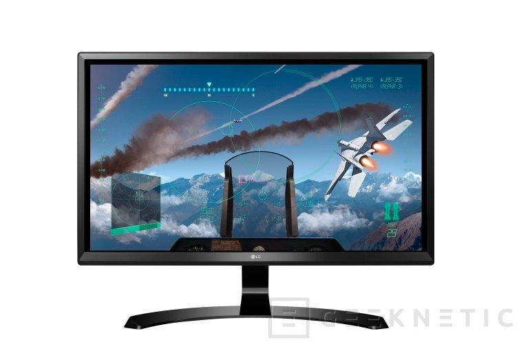 Nuevo monitor 4K 24UD58-B de LG con panel IPS y FreeSync, Imagen 2