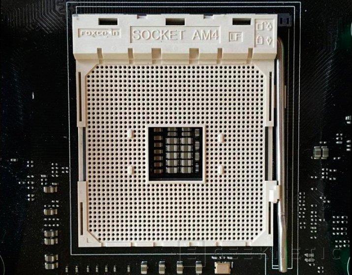 Primeras imágenes del socket AM4 de AMD, Imagen 1
