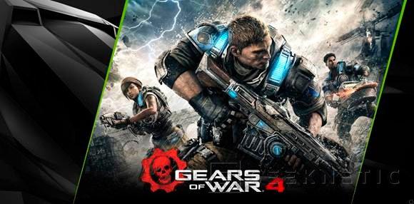 NVIDIA regala el Gears of War 4 por la compra de una GTX 1070 o GTX 1080, Imagen 1