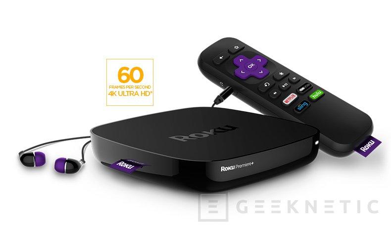 Roku actualiza su familia de reproductores multimedia con nuevos modelos 4K y HDR, Imagen 2
