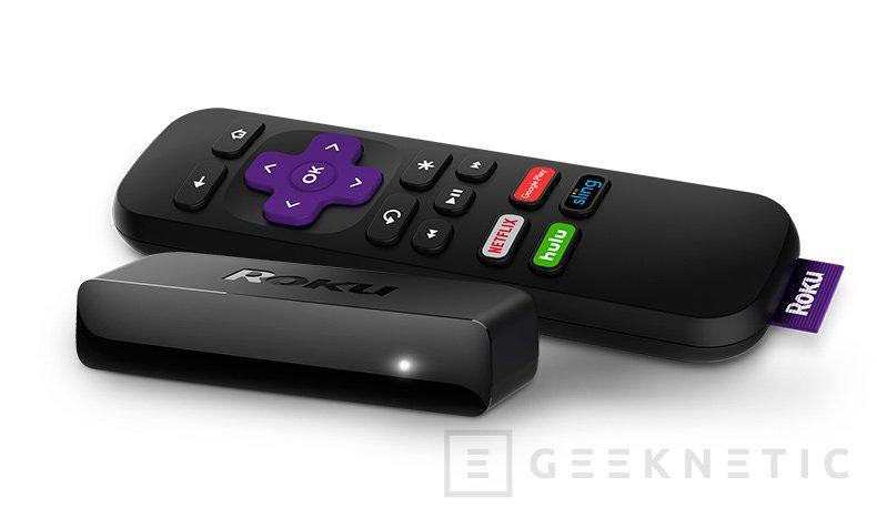 Roku actualiza su familia de reproductores multimedia con nuevos modelos 4K y HDR, Imagen 1