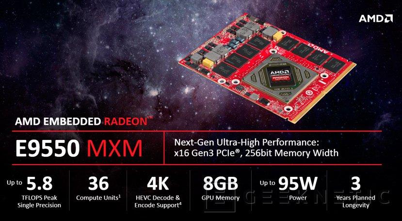 AMD anuncia sus GPU E9260 y E9550 para sistemas integrados, Imagen 2