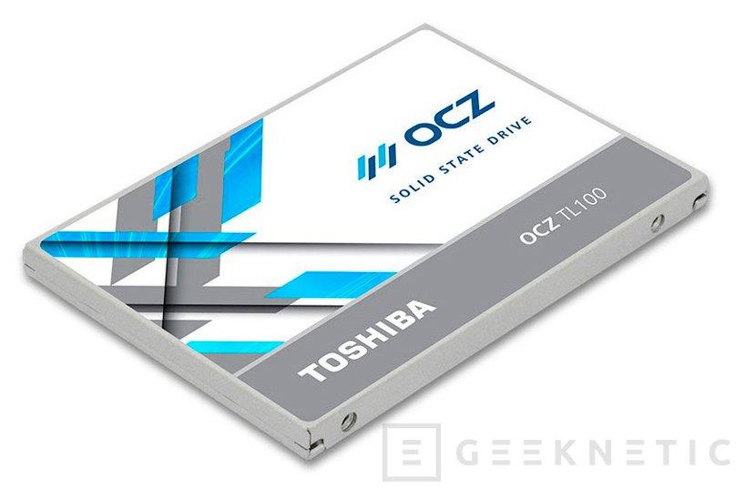 Nuevos SSD económicos Toshiba OCZ TL100, Imagen 1