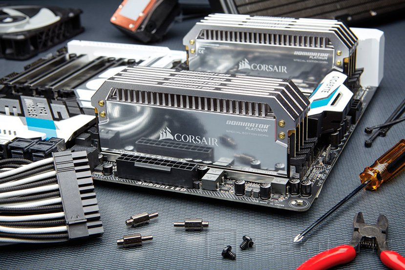 Corsair lanza una edición especial de sus memorias DDR4 Dominator Platinum, Imagen 2