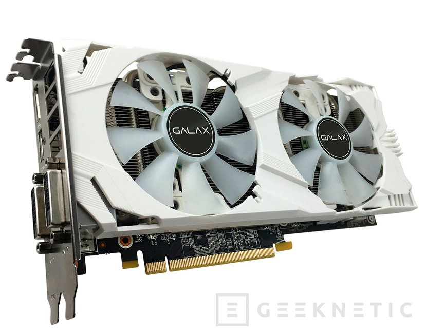 GALAX GTX 1060 EXOC White Edition, Imagen 1