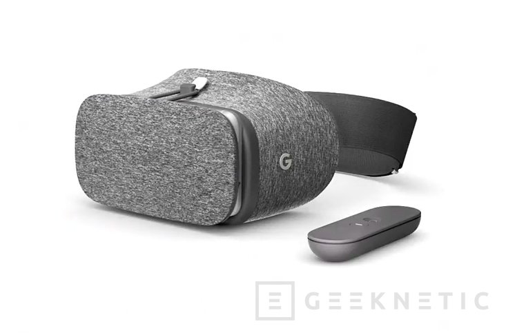 Daydream View son las gafas de realidad virtual de Google, Imagen 1