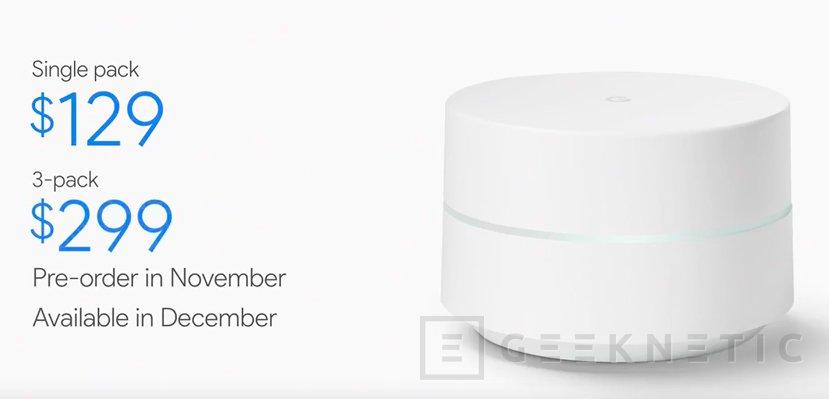 Google WiFi, llega el primer router de la compañía, Imagen 1