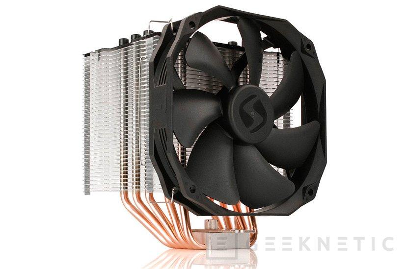 Nuevo disipador de CPU Silentium PC Fortis 3 He1425 v2, Imagen 1