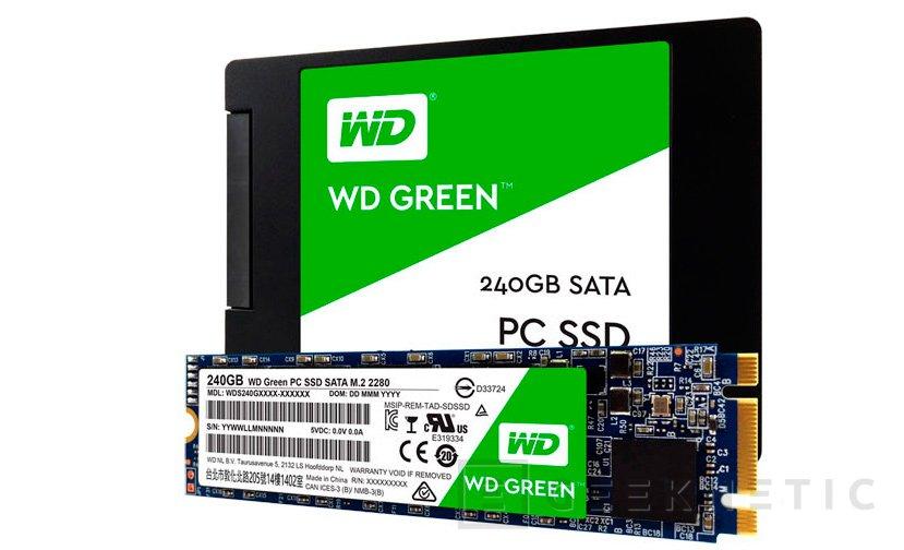 Western Digital entra en el mercado de los SSD con los nuevos WD Green y WD Blue, Imagen 1
